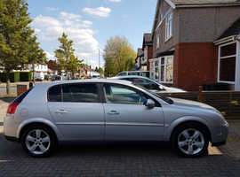 2005 Vauxhall Signum,Petrol,1.8L,5 Door,Hatchback,SILVER,Manual,MOT till 07 April 2020,13 Service Stamps,Water Pump/Timing Belt Changed Recently.