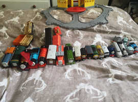 Mix of Thomas the Tank and friends