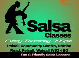 Walsall Salsa classes