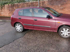 Nissan Almera, 2004 (04) Red Hatchback, Automatic Petrol, 75,000 miles