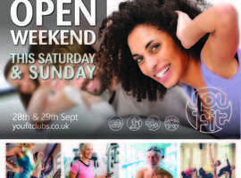 OPEN WEEKEND 28TH AND 29TH SEPTEMBER - ALL FACILITIES FREE TO USE