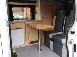 Vauxhall Vivaro newly renovated camper van