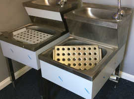 Janitorial cleaners sinks