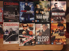 Steven seagal collection mint condition