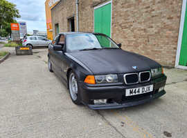 BMW 3 Series, 1996 (P) Silver Coupe, Manual Petrol, 186,217 miles