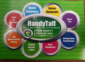House clearance, house removal, painting of properties interior and exterior, buy and sell furniture. Decking, fencing, patio' s and laminate flooring