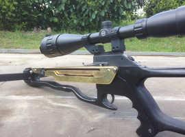 Barnett Commando Crossbow with NEW Hawk scope. Classic military.