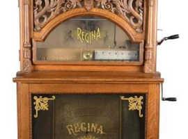 Rare Antique 5¢ Regina Dragon Front Music Machine -PNR- Lot 1922523