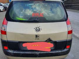Renault Megane, 2007 (07) Gold MPV, Manual Diesel, 157,000 miles