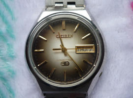 VINTAGE GENTS ELECTRONIC CITIZEN COSMOTRON WATCH