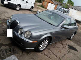Jaguar S-TYPE, 2003 (53) Grey Saloon, Automatic Petrol, 97,500 miles
