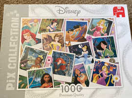 Disney princess pix collection 1000 piece jigsaw puzzle