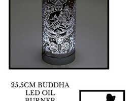 25.5CM BUDDHA LED OIL BURNER