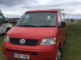 T5 2007 pop top campervan