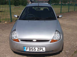 Ford Ka, 2005 (55) Silver Hatchback, Manual Petrol, 101,935 miles
