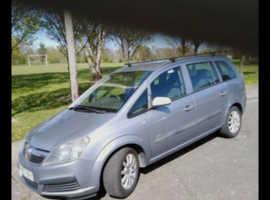 Vauxhall Zafira, 2007 (07) Silver MPV, Manual Petrol, 151,065 miles