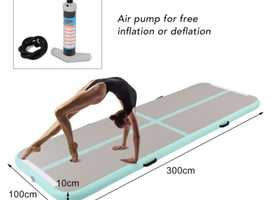 Costway Inflatable Air Track Gymnastic Mat with Pump (SP36161)