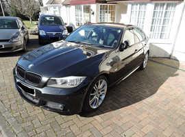 BMW 3 Series, 2010 (60) Black Saloon, Manual Petrol, 22,000 miles