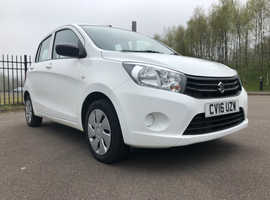 2016 Suzuki Celerio Sz2 1.0 Petrol in white, 12 month MOT, Free road tax, 2 keys, Service history