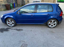 Volkswagen Golf, 2005 (05) Blue Hatchback, Manual Petrol, 148,992 miles