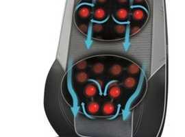 HoMedics Shiatsu Max 2.0 Back & Shoulder Massager + Heat Massage Chair 14 Modes £110