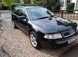Audi A4 Estate, 2000 Black, Manual, 1.8 Petrol