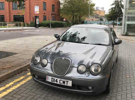 Superb example of rare Supercharged V8 Jaguar S-TYPE R, 2002 (52) Grey Saloon, Automatic Petrol, 143,000 miles