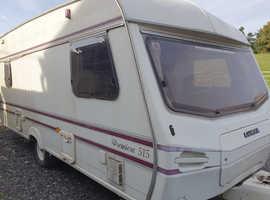 4 Berth Lunar Bargain Touring caravan