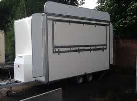 Brand new catering trailer fully fitted unused 12ft x7ft type approved
