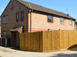 One bed house with enclosed garden & parking in Marchwood area