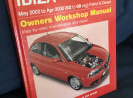 SEAT IBIZA HAYNES WORKSHOP MANUAL