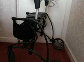 Dolomite Jazz mobility walker - Heavy duty - outdoor - Rollator