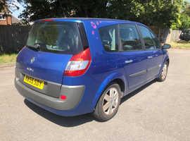 Renault Grand Scenic, 2005 (55) Blue MPV, Manual Petrol, 90,000 miles