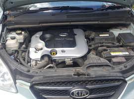 Kia Carens, 2007 (07) Silver MPV, Manual Diesel, 72,474 miles