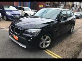 BMW X1, 2011 (61) Black Estate, Manual Diesel, 130,000 miles