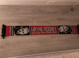 Wayne Rooney scarf