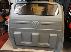 VW Transporter T5 Bulkhead Window, Carpeted New.