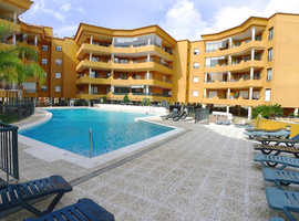 2 Bed Furnished Garden Apt Modern Gated Development Los Pacos Fuengirola Pool Gym Sauna Sea Views Parking