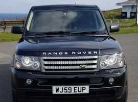 Land Rover Range Rover Sport, 2009 (09) black Estate, Automatic Diesel, 92000 miles