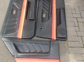 MK2 VW GOLF GTI CUSTOM DOOR CARDS