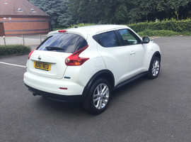 2011 (61) NISSAN JUKE ACENTA PREMIUM DCI 1.5 DCI MANUAL WHITE MOT JULY 2020