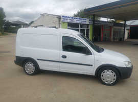 Vauxhall COMBO, 2006 (56) White Other, Manual Diesel, 107,000 miles