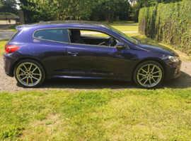 Volkswagen Scirocco R Line, 2014 (64) purple, Manual, 2.0L Diesel, 48,000 miles