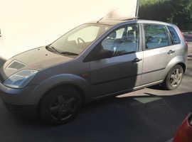 Ford Fiesta, 2003 (53) Silver Hatchback, Manual Petrol, 105,833 miles