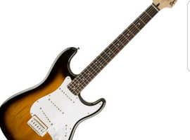 Fender Squire Strat Guitar