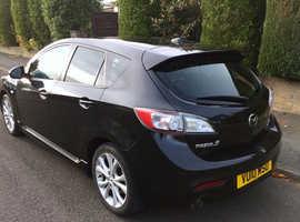 Mazda MAZDA 3, 2010 (10) Black Hatchback, Manual Diesel, 70,000 miles