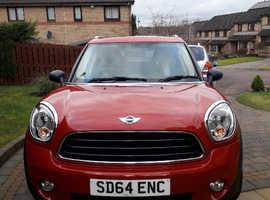 Mini MINI COUNTRYMAN, 2014 (64) Red Hatchback, Manual Diesel, 27,961 miles