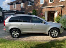 Volvo Xc90, 2012 (12) Silver Estate, Auto, 66,300 miles. FSH, Exc Cond