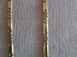 Vintage 750 marked gold necklace