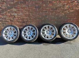 Mercedes w211 10 spoke alloy sport package
